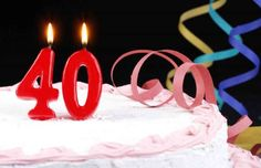 Turning 40 is an exciting milestone. It means crossing the threshold of middle age and hopefully rea... - Jill Krasny