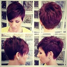 Today we have the most stylish 86 Cute Short Pixie Haircuts. We claim that you have never seen such elegant and eye-catching short hairstyles before. Pixie haircut, of course, offers a lot of options for the hair of the ladies'… Continue Reading → Short Pixie Haircuts, Cute Hairstyles For Short Hair, Pixie Hairstyles, Curly Hair Styles, Pixie Haircut For Thick Hair, Short Choppy Hair, Short Red Hair, Haircut For Older Women, Short Hair Cuts For Women