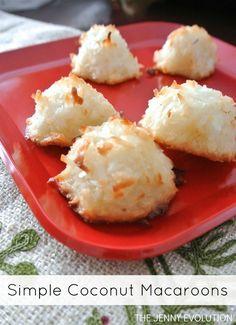 Christmas Cookies! Simple Coconut Macaroon Recipe (Gluten-Free)