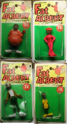 "vintagetoyarchive: "" CHEMTOY: 1973 Fat Albert and the Cosby Kids Figures (Fat… 70s Toys, Retro Toys, Vintage Tv, Vintage Dolls, Toys R Us Kids, 4 Kids, Cosby Kids, My Childhood Memories, Childhood Toys"