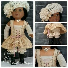 Custom outfit for 18 inch doll by AvaDeenaDesigns SOLD