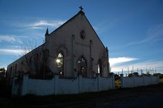 Abandoned church, Grahamstown, Eastern Cape, South Africa Provinces Of South Africa, Abandoned Churches, Cathedral Church, Place Of Worship, The Past, Cape, Architecture, World, Places
