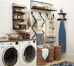 21 Laundry Room Makeover Ideas - Captain Decor #laundryroombasement