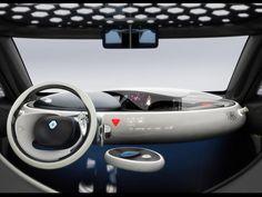 Future Car, Renault Zoe Concept Interior 1
