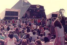 Glastonbury CND festival 1984
