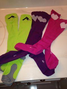 New compression socks! Support Hose, Np School, Boot Socks, Triathlon, Get Healthy, Spinal Cord, Medical Assistant, Workout, Nurses