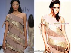 Preity zinta surily dress