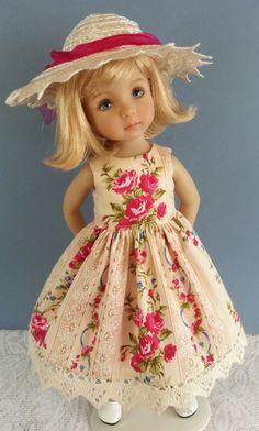 "Carefully handmade dolls clothes for 18"" - 30"" dolls, including vintage dolls"