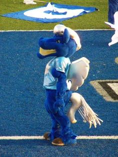 MTSU - Middle Tennessee State Blue Raiders Football Team mascot Lightning