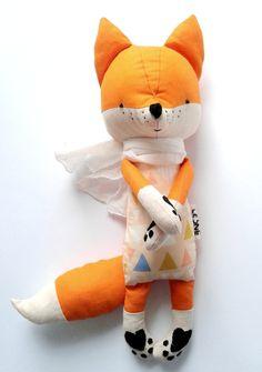 Esti the Fox children's plush toy