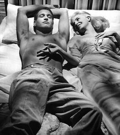 Paul Newman and Joanne Woodward 1958