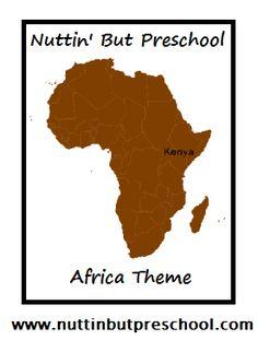 » Africa Lesson Plan Nuttin' But Preschool