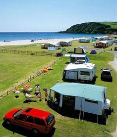 Pentewan sands, Cornwall