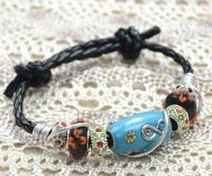 Bracelet With  European Beads by Jersica