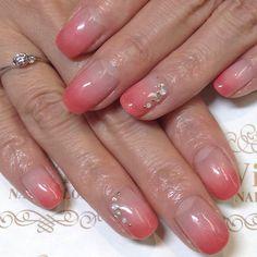 #vividnailsalonsydney#calgel#sydney#nail#nails#nailart#geldesign#art#nalisalon#gelnail#japanesenailart#ネイル#ジェルネイル#カルジェル#美甲#指甲#pink#pinknail#gradation