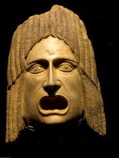Roman theater mask                                                                                                                                                                                 Más