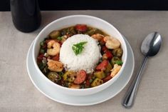 Chicken, Sausage and Shrimp Gumbo Recipe (for I hope you enjoy this small pot of gumbo. I worked my way through many gumbo recipes to make the most authentic tasting version. This one is spot on. Cajun Recipes, Chicken Recipes, Cooking Recipes, Gumbo Recipes, Chowder Recipes, Top Recipes, Family Recipes, Sauce Recipes, Cooking Ideas