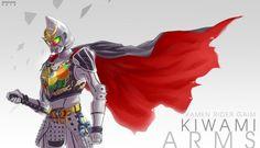 Kamen rider gaim kiwami arms..