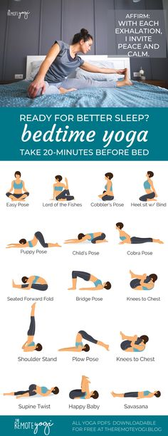 Get Better Sleep After This Gentle Yoga Routine - - Do you ever find yourself restless in bed at night, a random Backstreet boy's song is stuck in your head, and you watch each minute tick by? Doing a bedtime yoga sequence is an…. Yoga Bewegungen, Sleep Yoga, Bedtime Yoga, Men Yoga, Pilates Yoga, Pilates Reformer, Vinyasa Yoga, Yoga Flow Sequence, Yoga Sequences