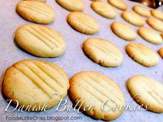 Food for Little Ones: Easy Danish Butter Cookies 简易丹麦牛油饼干