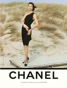 Shalom Harlow for Chanel