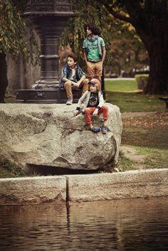Timberland : excursion urbaine / collection printemps-été 2014.
