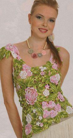 夏天叶子花钩衣 - 钩织乐趣 - 钩织乐趣的博客