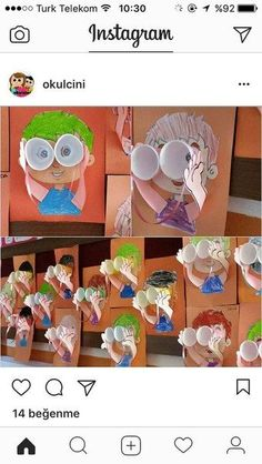9 Easy & Best Grandparents Day Crafts And Ideas For Kids And Preschoolers Kindergarten Art, Preschool Crafts, Projects For Kids, Crafts For Kids, Grandparents Day Crafts, Art Classroom, Summer Crafts, Elementary Art, Teaching Art