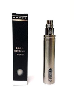 WOLFTEETH GS II 2200 mAh Enorme Batería 2015 Edition 510 cigarrillo electrónico - https://complementoideal.com/producto/tienda-socios/aticulos-de-fumar/wolfteeth-gs-ii-2200-mah-enorme-batera-2015-edition-510-cigarrillo-electrnico-e-shisha-cigarrillo-electrnico-plata/