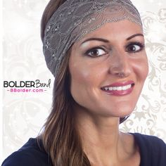 Bolder Band Headbands new Fancy Bands keep your hair out of your eyes when you are working out or looking good out with your friends.