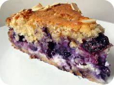 The Procrastobaker: Blueberry Cheese Danish Cake