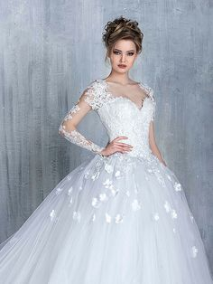 Most elegant wedding dresses and bridal gowns available at Beirut (Lebanon). Classic and trendy bridal dresses and wedding gowns at an affordable prices. 2016 Wedding Dresses, Wedding Attire, Bridal Dresses, Gown Wedding, Ivory Wedding, Beautiful Wedding Gowns, Beautiful Bride, Beautiful Dresses, Elegant Wedding