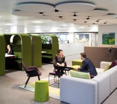 Break out area at haysmacintyre - also provides an area of collboration and impromptu meetings.