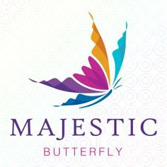 Majestic Butterfly logo Like: simple, shape based, very elegant.