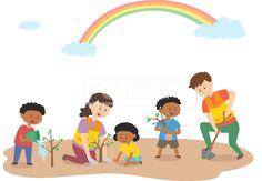 SILL241, 프리진, 일러스트, 사람, 생활, 벡터, 에프지아이, 남자, 여자, 캐릭터, 소녀, 소년, 어린이, 심플, 서있는, 전신, 귀여운, 단체, 기업, 봉사, 활동, 봉사활동, 자원, 자원봉사, 글로벌, 해외, 웃음, 미소, 행복, 흑인, 아프리카, 기부, 사랑, 나눔, 어른, 젊은이, 여자어린이, 남자어린이, 파마, 조끼, 후원, 무지개, 하늘, 새싹, 묘목, 삽, 물, 양동이, 나무, illust, illustration #유토이미지 #프리진 #utoimage #freegine 20071201