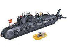 Força Tática Submarino 502 Peças - BanBao