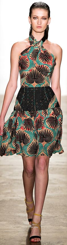 Sophie Theallet Spring Summer 2015 Ready-To-Wear collection