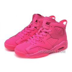 the latest 44f6e c846e Womens Nike Air Jordan 6 GS All Pink For Sale Girls Size MHSYa