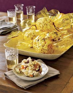 Sweet Popcorn Balls - My granddaughters and I make popcorn balls to put in gift baskets, these every holiday season, but we have never made these. They do sound good.