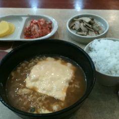 간단한 점심. 라면이먹고싶었는데. 이곳은 라면을 잘 못 끓인다 ㅠ ㅠ
