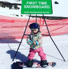 @willjackways's daughter is only 18 months old and already starting to shred. Talk about the next generation.