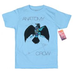 Anatomy of a Crow T shirt Design