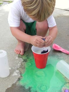 DIY Street Paint and LOTS of other fun things to do with your kids :)