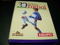 Libro - Fichas 30 LECCIONES DE FUTBOL