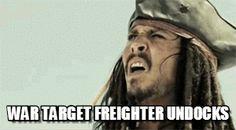 WT freighter undocks