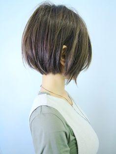 Kawaii Hairstyles, Pretty Hairstyles, Bob Hairstyles, Medium Hair Cuts, Short Hair Cuts, French Bob, Short Hair With Layers, Hair Tattoos, Asian Hair