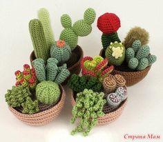 вязаные кактусы - Поиск в Google