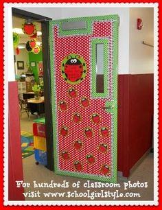 Ladybug Classroom Decor Ladybug bulletin board classroom theme www.schoolgirlstyle.com by lillian