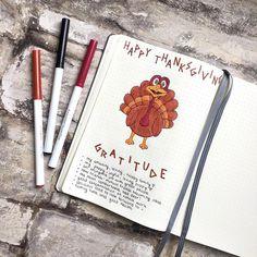 Happy thanksgiving! 🇨🇦 • • • #bulletjournal #candianthanksgiving #bulletjournaling #mylifeinlowercase #bujo #bulletjournalingcommunity…