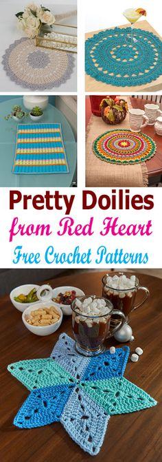 Crochet Pretty Doilies Free Crochet Patterns - Crochet 'n' Create